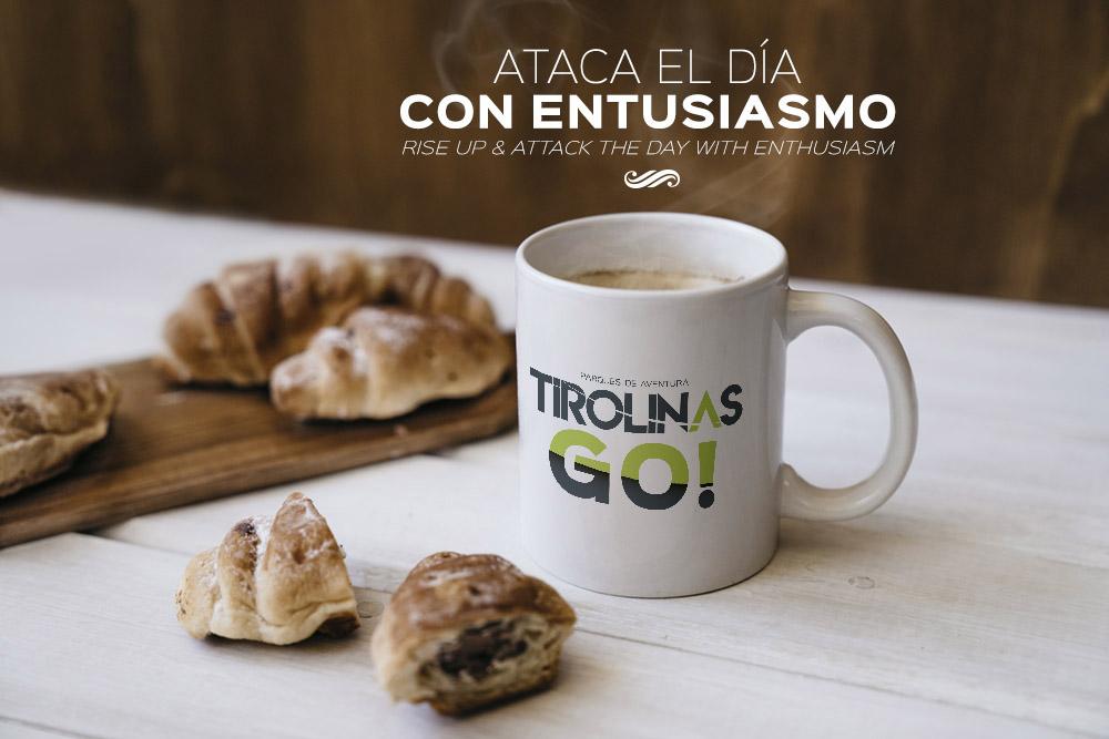 Desayuno en Tirolinas Go Guadarrama